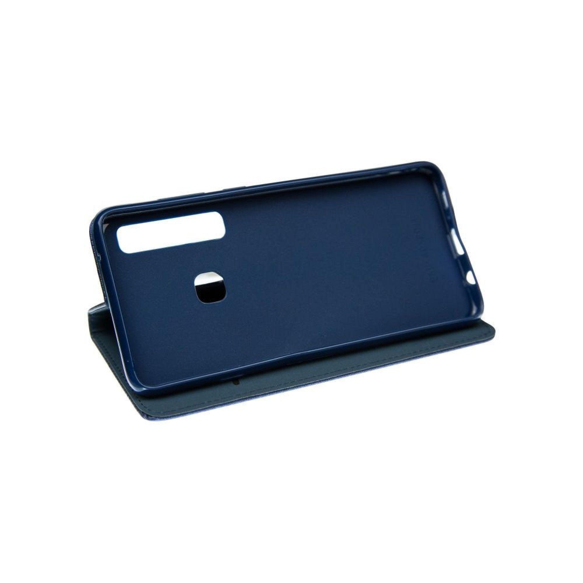Husa BookCover Smart Pentru Samsung Galaxy A9 (2018), Navy