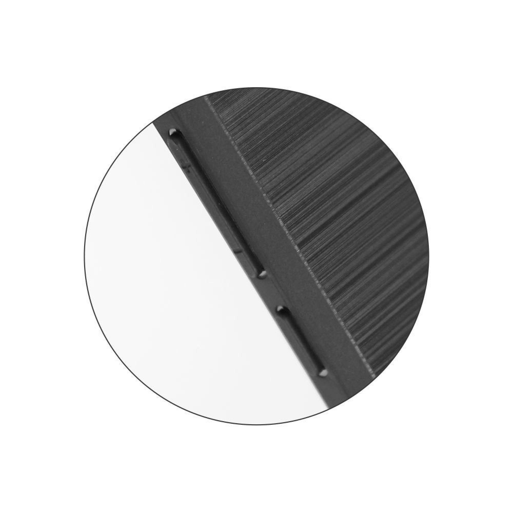 Husa Antisoc Carbon pentru Samsung Galaxy A9 (2018), Negru